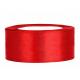 Saténova stuha 50mm/25m - červená