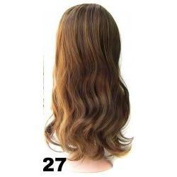 Parochňa hnedé, dlhé vlasy