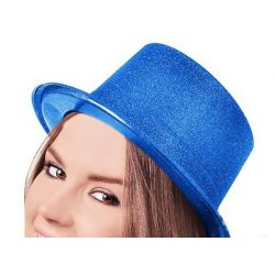 Párty klobúk - modrý
