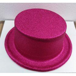 Párty klobúk - cyklámenový