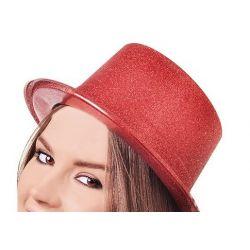 Párty klobúk - červený