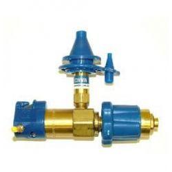 Klobúčikový ventil bez manometra