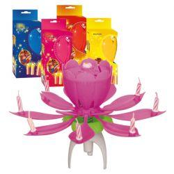 Tancujúci kvet-Dancing flower 12 CM Ružový