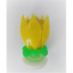 Tancujúci kvet-Dancing flower 12 CM Žltý