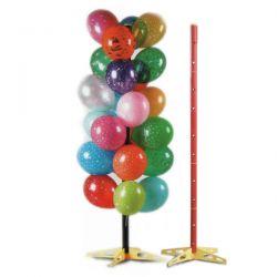 Stojan na balóny červený
