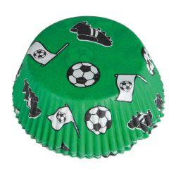 Košíky na muffiny Fotbal