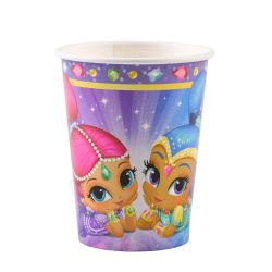 Poháre Shimmer and shine 8ks