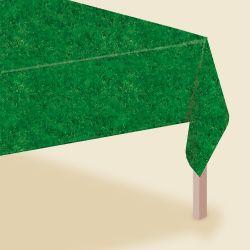 Obrus zelená tráva