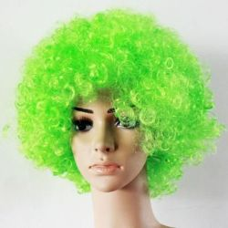 Klaunovské vlasy zelenej farby