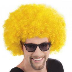 Klaunovské vlasy žltej farby
