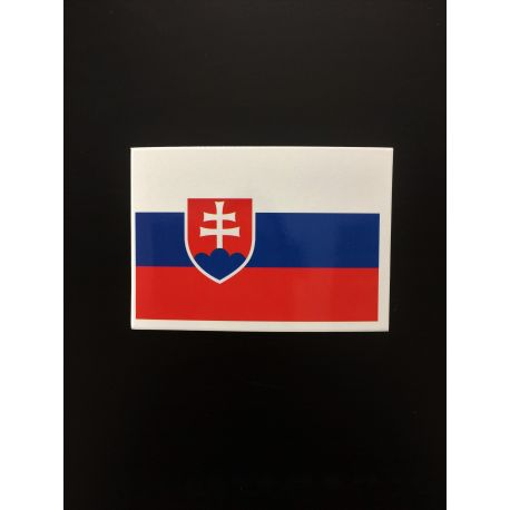 Nálepka - slovenská vlajka