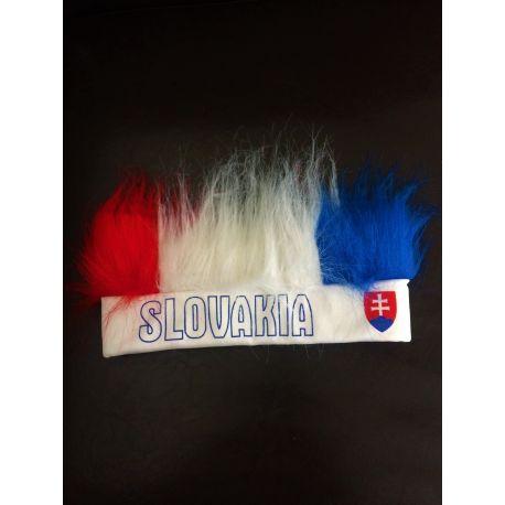 Čelenka s vlasmi SLOVAKIA