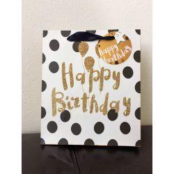 """Darčeková taška """"Happy Birthday"""""""