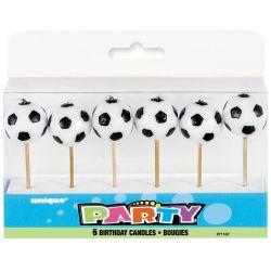 Sviečky- futbalové lopty