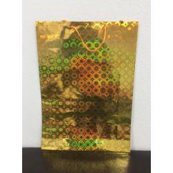 Darčeková taška lesklá - zlatá