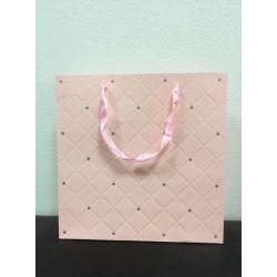 Darčeková taška ružovej farby