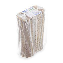 Papierová miska oválna hnedá (PAP) 10,5 x 17,5 x 3cm