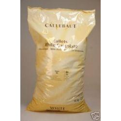 Belgická biela čokoláda Callebaut
