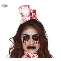 Set - mini čarodejnícky klobúk a krvavý obojok