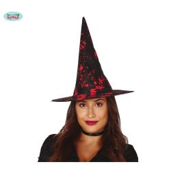 Čierny krvavý čarodejnícky klobúk