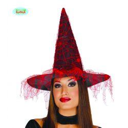 Čarodejníck y klobúk so závojom