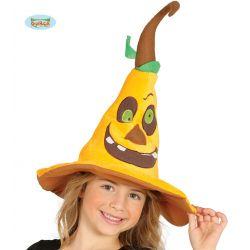 Detský klobúk - tekvica