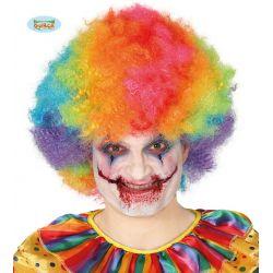 Farebná klaunská parochňa
