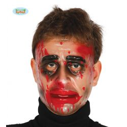 Priesvitná pvc maska s krvou