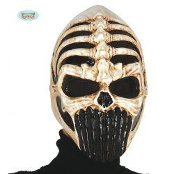 PVC maska lebky bojovníka