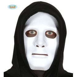 Biela maska PVC
