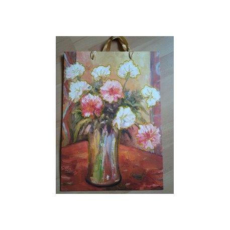 Darčeková taška - Kvietková s vysokou vázou