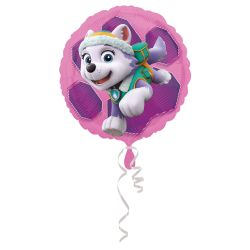 Fóliový balón Pink Paw Patrol 43cm