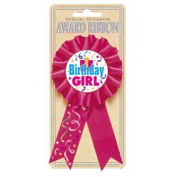 Narodeninový odznak dievča