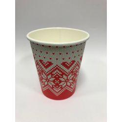 """Papierový pohár """"Zimné obdobie"""" 280 ml"""