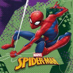 Servítky Spiderman (20ks) 2-vrstv 33x33cm