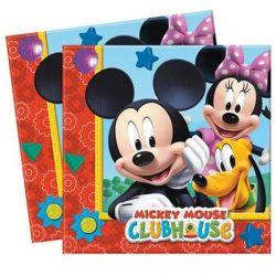 Servítky Mickey Mouse (20ks) 2-vrstv. 33x33cm
