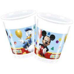 Poháre Mickey Mouse (8ks) 200ml