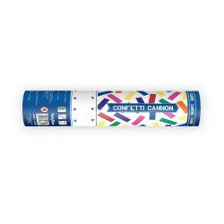 Vystrelovacie konfety farebné pásiky 20 cm