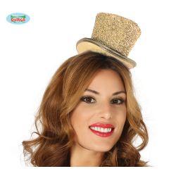Lesklý zlatý klobúčik