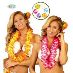 Havajské kvety - jednofarebné
