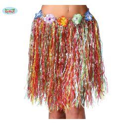 Havajská sukňa - farebná