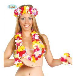 Set havajských kvetov