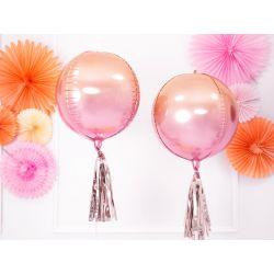 Strapce na balóny - ružovo zlaté