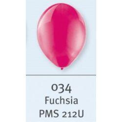 BIO balón priehľadný magenta