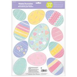Nálepky na okno - Veľkonočné vajíčka