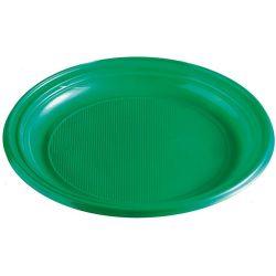 Tanier zelený (PS) Ø 22 cm (10 ks)
