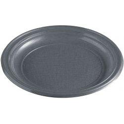 Tanier strieborný (PS) Ø 22 cm (30 ks)