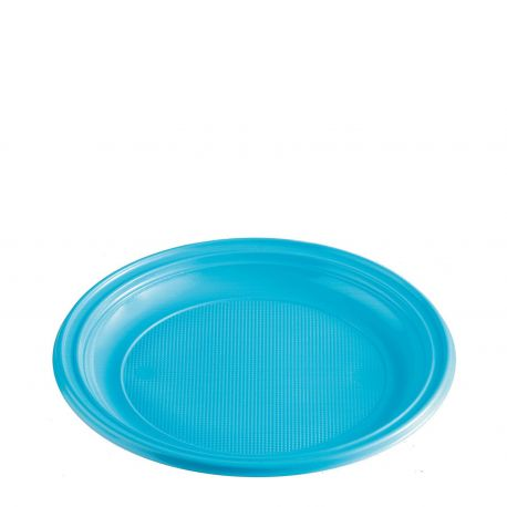 Tanier svetlomodrý (PS) Ø 22 cm (10 ks)