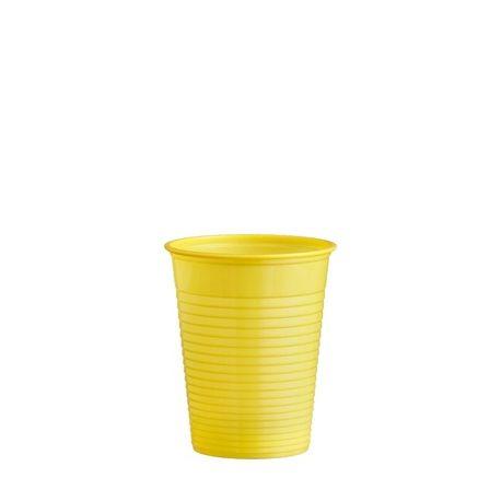 Pohár žltý 0,18 l (PS) priemer 70 mm (10ks)