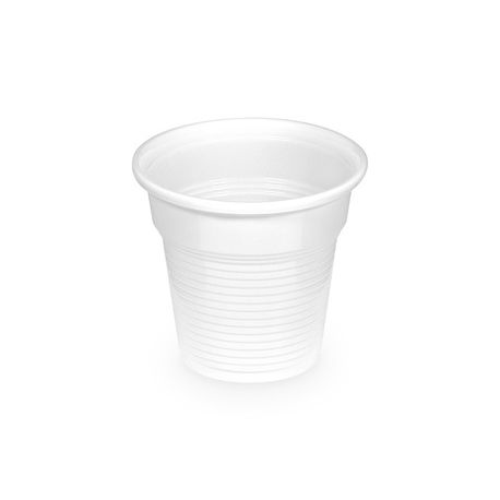 Pohár biely 0,08 l -PS- (priemer 57 mm) (100 ks)